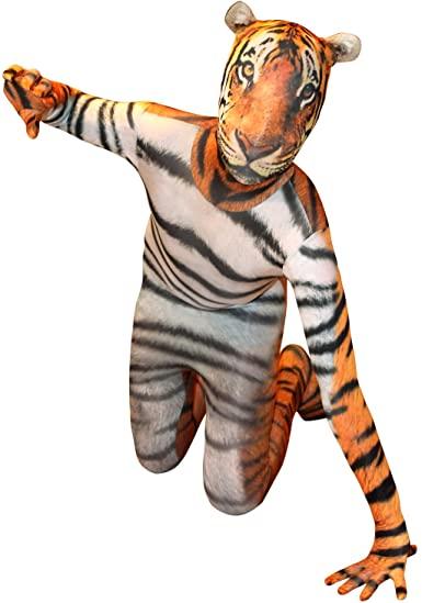 fantasia oficial de tigre infantil – official child tiger costume