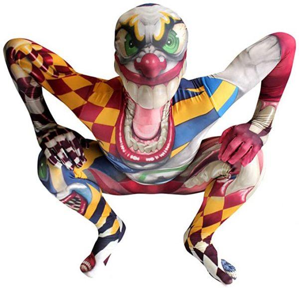 Fantasia infantil de Palhaço Monstro infantil –  Children's Clown Costume Children's Monster