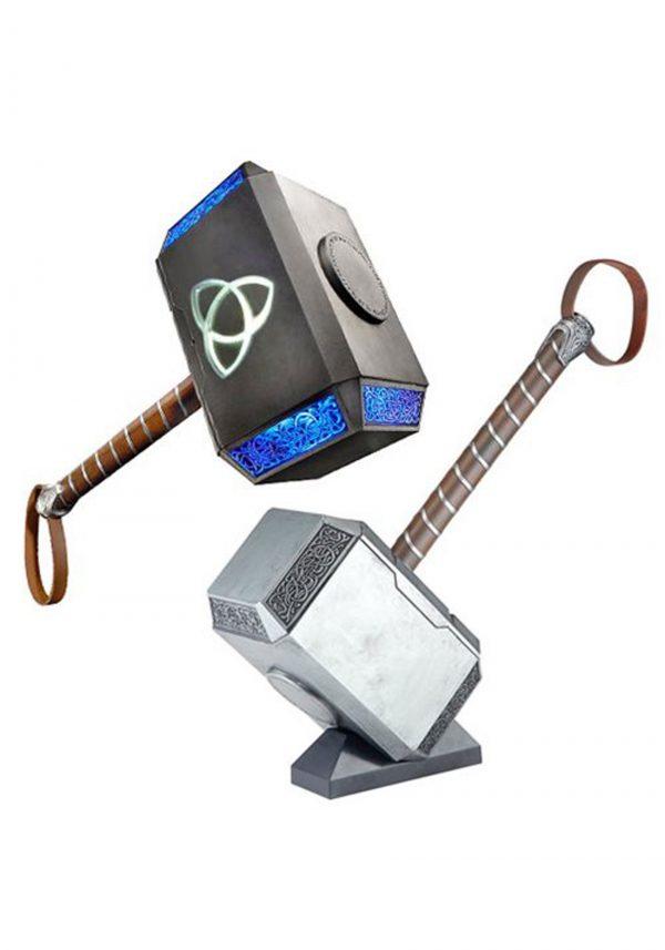 Adereço eletrônico Marvel Legends Thor Mjolnir Hammer – Marvel Legends Thor Mjolnir Hammer Electronic Prop