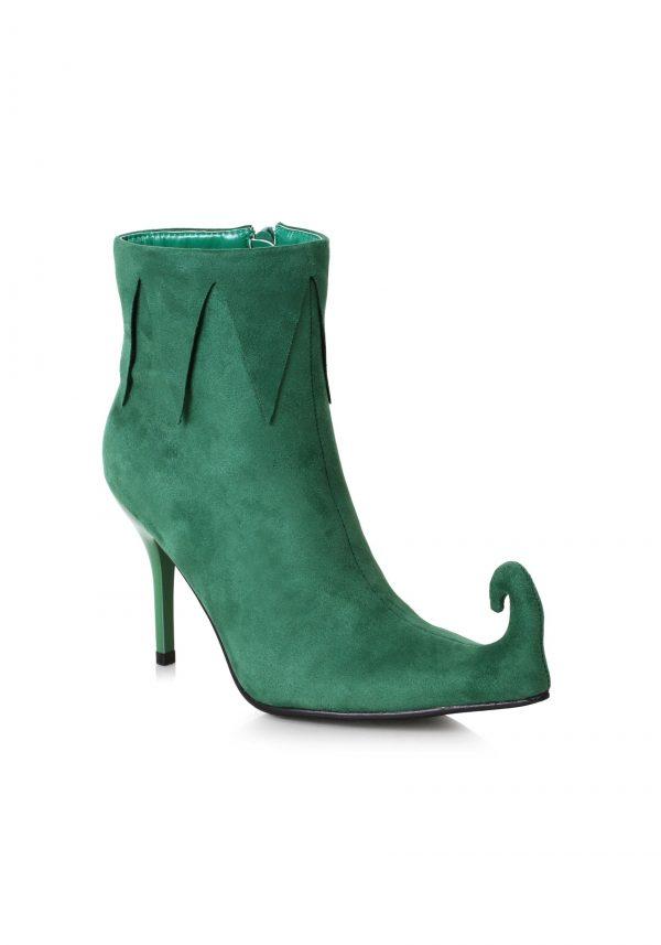 Botas de elfo verde feminino – Women's Green Elf Boots