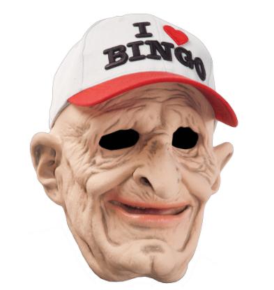 Máscara de bingo – I Love Bingo Mask