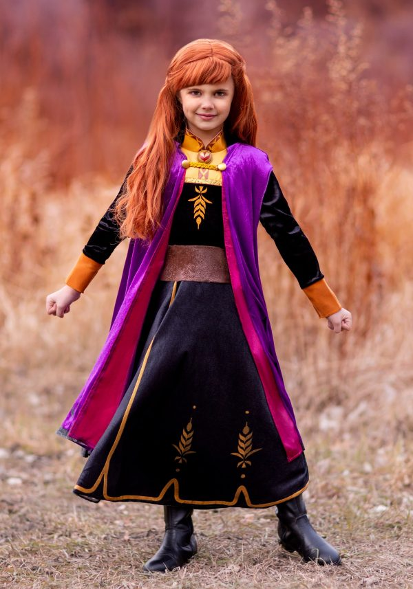 Fantasia Anna Deluxe Frozen 2 – Deluxe Frozen 2 Girls Anna Costume