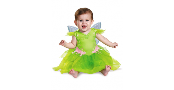 Fantasia  Baby Tinker Bell Deluxe Disney – Baby Tinker Bell Costume Deluxe Disney