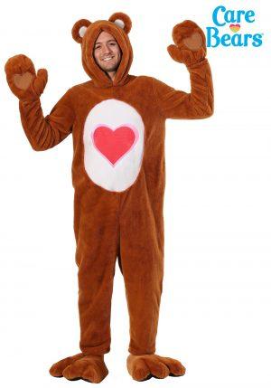 Fantasia Deluxe Adulto  Ursinhos Carinhosos Ursinho Do Meu Coração – Care Bears Deluxe Tenderheart Bear Costume