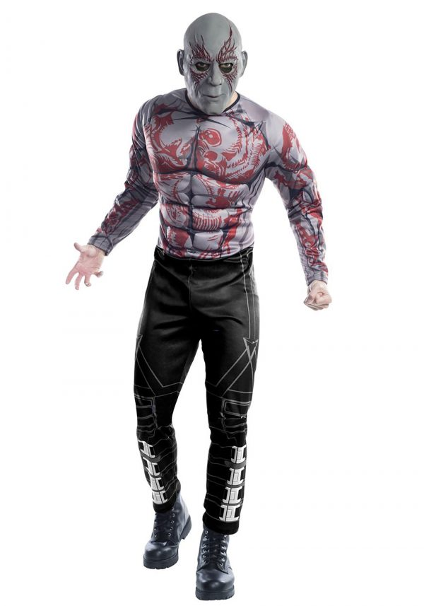 Fantasia Deluxe Drax dos Guardiões da Galáxia da Marvel – Marvel Guardians of the Galaxy Deluxe Drax Costume