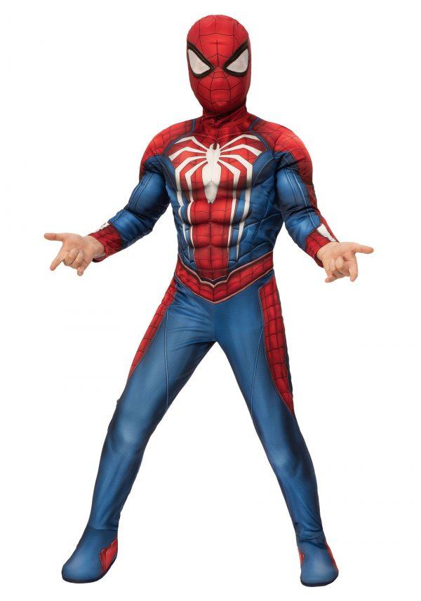 Fantasia Deluxe Infantil Homem-Aranha – Child Spider-Man Gamer Verse Deluxe Costume
