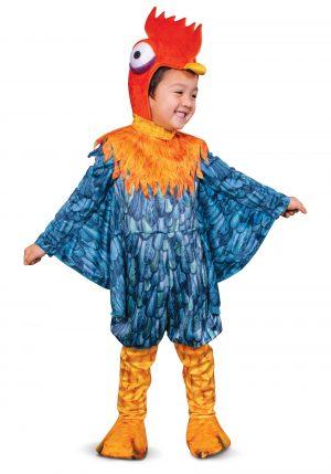 Fantasia Deluxe Moana  infantil Hei Hei – Moana Toddler Boys Hei Hei Deluxe Costume