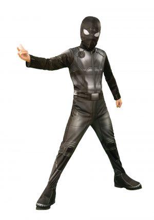 Fantasia Homem-Aranha Longe de Casa Infantil – Spider-Man Far From Home Spider-Man Kids Classic Stealth Costume