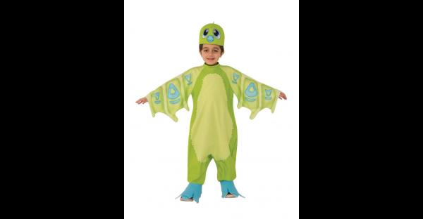 Fantasia Infantil Green Draggles Hatchimals – Kids Green Draggles Costume Hatchimals