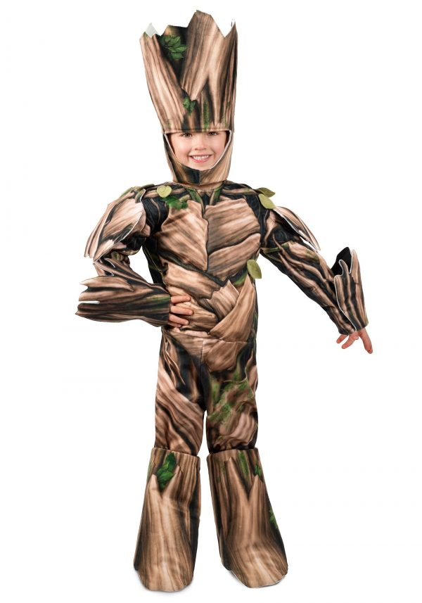 Fantasia Infantil Guardiões da Galáxia Groot Deluxe – Kids Guardians of the Galaxy Groot Deluxe Costume