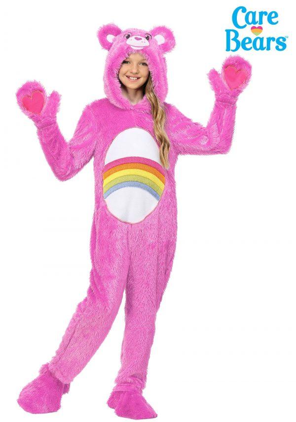 Fantasia Infantil Ursinhos Carinhosos Ursinha Animadinha – Care Bears Child Classic Cheer Bear Costume