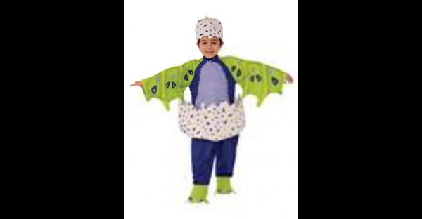 Fantasia Kids Blue Draggles Hatchimals – Kids Blue Draggles Costume Hatchimals