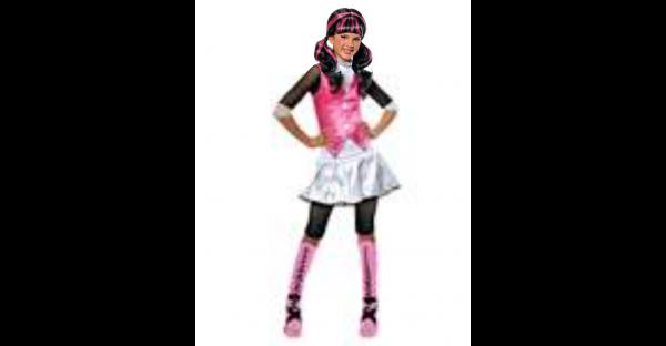 Fantasia Kids Draculaura Monster High  – Kids Draculaura Costume Monster High
