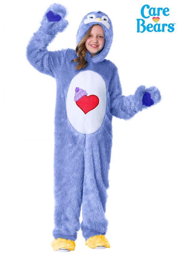 Fantasia Primo Ursinhos Carinhosos Amor Sem Fim – Care Bears & Cousins Cozy Heart Penguin Costume for Kids