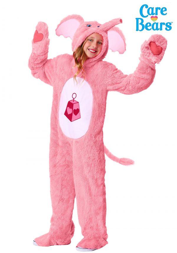 Fantasia Primo Ursinos Carinhosos Infantil Amor sem Fim – Lotsa Heart Elephant Care Bears Child Costume