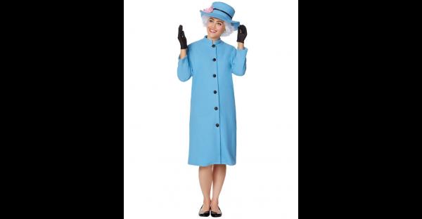 Fantasia Rainha Elisabeth – Adult English Queen Coat Costume