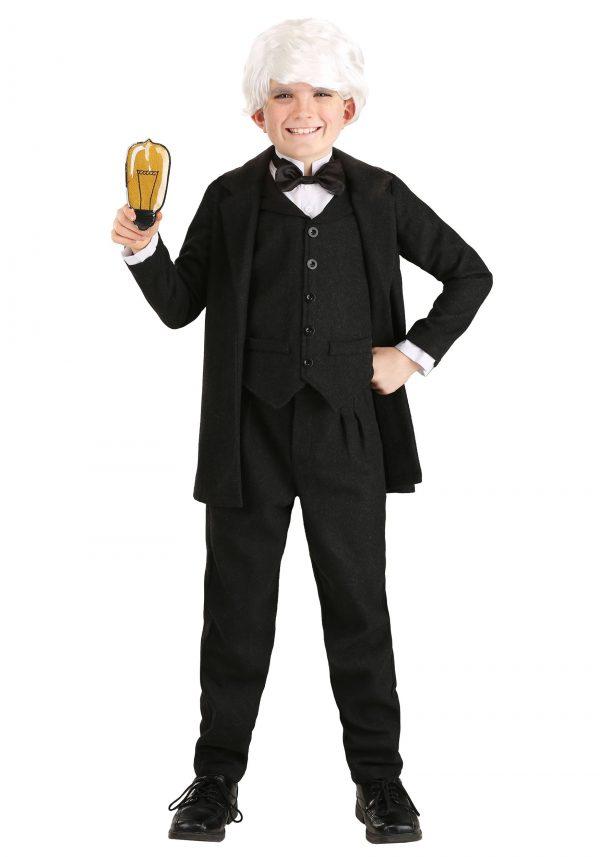 Fantasia Thomas Edison para crianças – Thomas Edison Costume for Kids