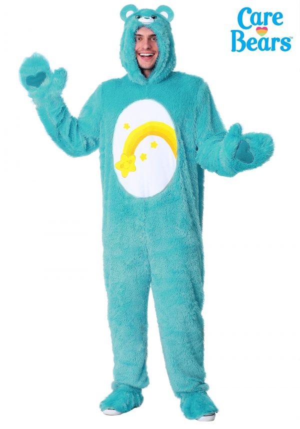 Fantasia Ursinhos Carinhosos Adulto Ursinho dos Desejos – Care Bears Wish Bear Adult Costume