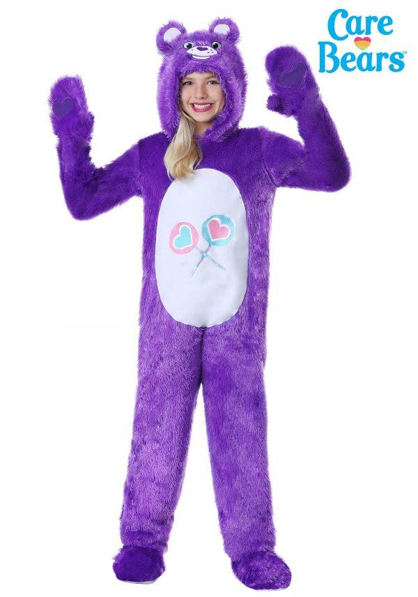 Fantasia Ursinhos Carinhosos infantil Carinhosa – Care Bears Child Classic Share Bear Costume