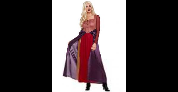 Fantasia adulta de Sarah Sanderson  Hocus Pocus  – Adult Sarah Sanderson Costume Hocus Pocus