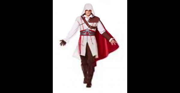 Fantasia adulto de Ezio  Assassin's Creed – Adult Ezio Costume  Assassin's Creed