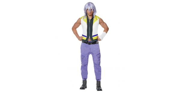 Fantasia adulto de Riku Kingdom Hearts – Adult Riku Costume  Kingdom Hearts