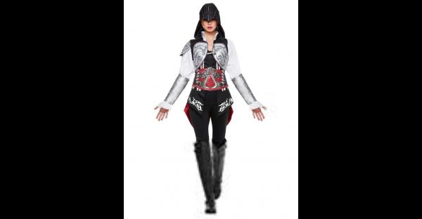 Fantasia adulto final de Ezio Assassin's Creed – Adult Ultimate Ezio Costume Assassin's Creed