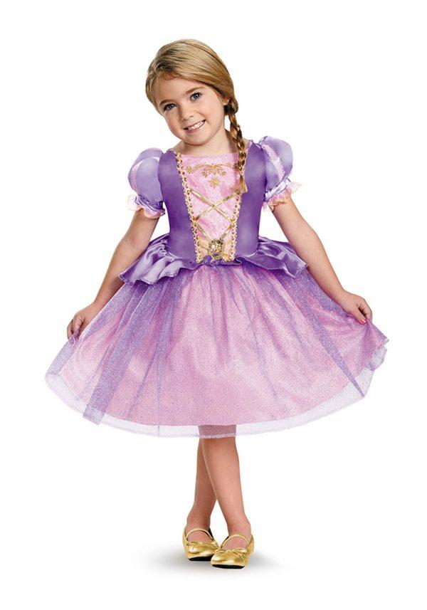 Fantasia clássico de Rapunzel para crianças – Tangled Rapunzel Classic Costume for Toddlers