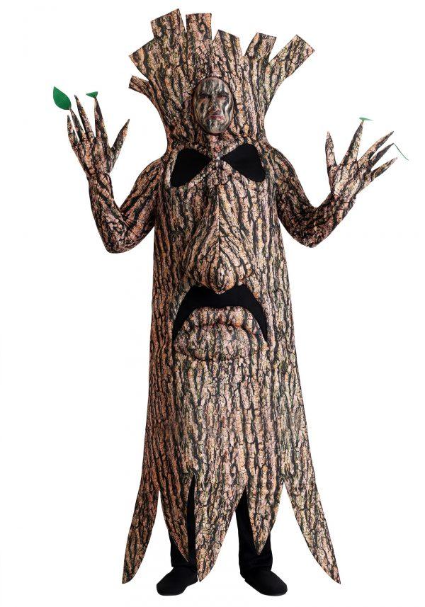 Fantasia de árvore aterrorizante para adultos – Adult Terrifying Tree Costume