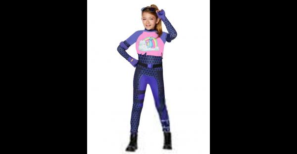 Fantasia de Brite Bomber para meninas Fortnite – Girls Brite Bomber Costume Fortnite