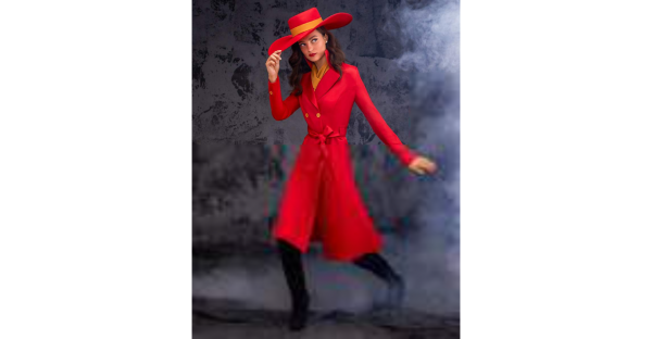 Fantasia de Carmen Sandiego para adultos – Adult Carmen Sandiego Costume