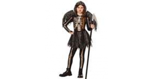 Fantasia de Ceifador de meia-noite infantil – Kids Midnight Reaper Costume