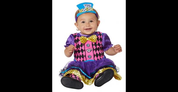 Fantasia de Chapeleiro Maluco bebe Alice no país das maravilhas – Baby Mad Hatter Costume Alice In Wonderland
