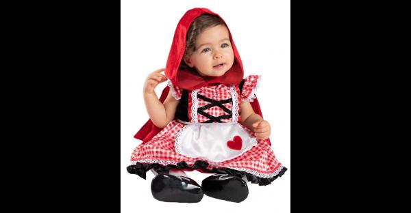 Fantasia de Chapeuzinho Vermelho de Bebe – Baby Lil' Red Riding Hood Costume