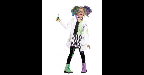 Fantasia de Cientista Maluco – Kids Mad Scientist Costume