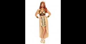 Fantasia de Deusa do Sol para adultos – Adult Sun Goddess Costume