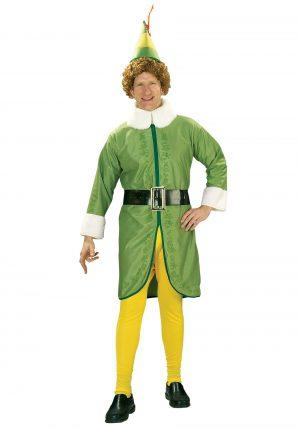 Fantasia de  Elfo para adultos – Buddy the Elf Adult Costume