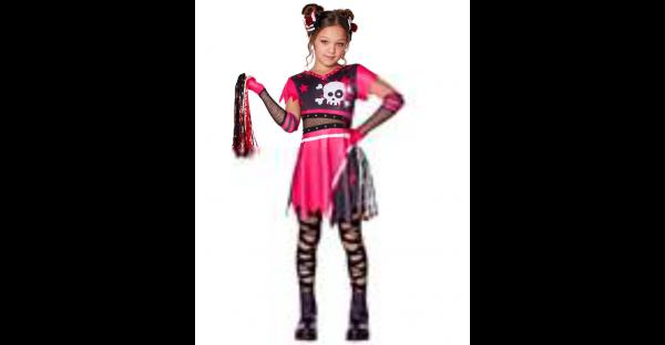 Fantasia de Esquadrão do Medo Infantil – Kids Scare Squad Costume