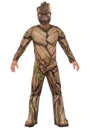Fantasia de Groot Deluxe para Meninos – Boys Deluxe Groot Costume