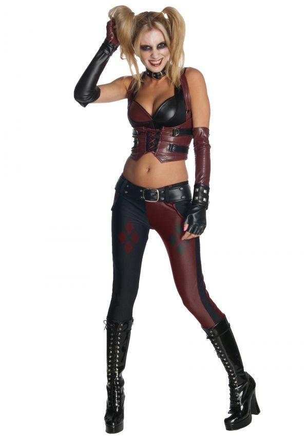Fantasia de Harley Quinn em Arkham City – Harley Quinn Costume Arkham City