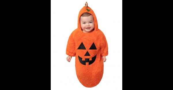 Fantasia de Jack-O'-Lantern para bebê – Baby Bunting Jack-O'-Lantern Costume