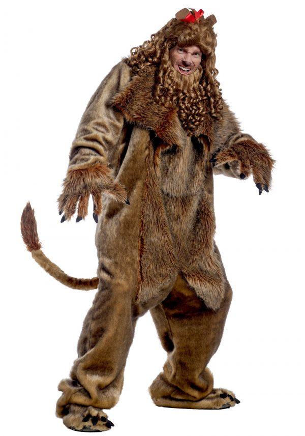 Fantasia de Leão Covarde mágico de Oz para adultos – Wizard of Oz Cowardly Lion Costume for Adults