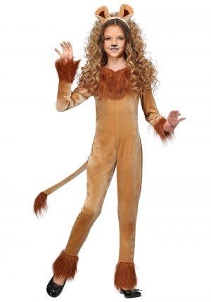 Fantasia de Leoa Feroz Infantil – Fierce Lion Girl's Costume