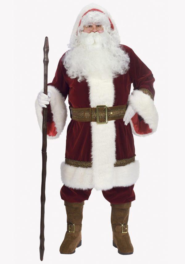 Fantasia de Luxo Papai Noel – Deluxe Old Time Santa Costume