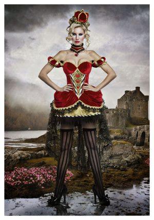 Fantasia de Luxo Rainha de Copas – Deluxe Queen of Hearts Costume