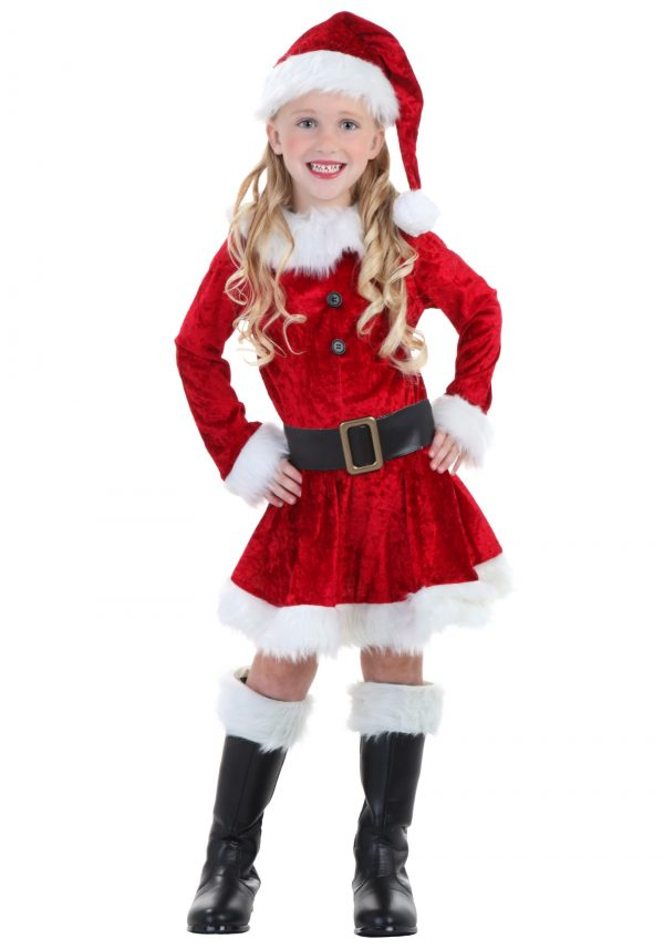 Fantasia de Mamãe Noel para Crianças  -Toddler Mrs Claus Costume