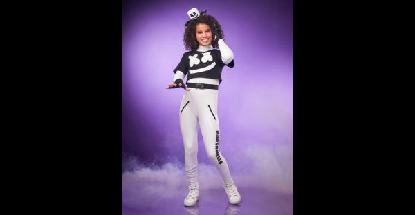 Fantasia de Marshmello para meninas – Girls Marshmello Costume