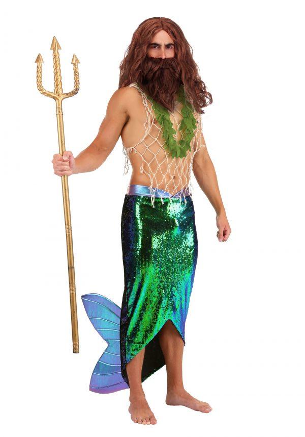 Fantasia de Merman para Homens – Salty Merman Costume for Men