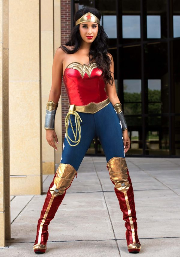 Fantasia de Mulher Maravilha da DC Comics – DC Comics Wonder Woman Costume