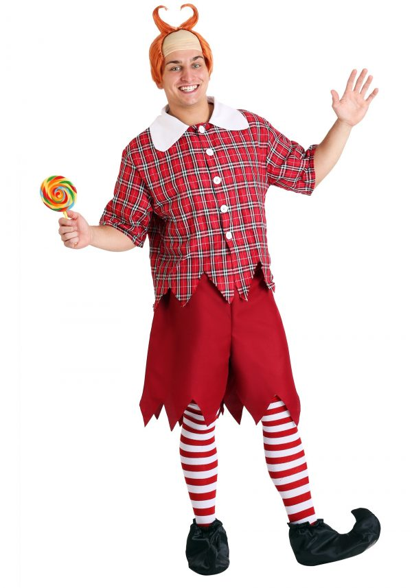 Fantasia de Munchkin Vermelha para Adultos – Adult Red Munchkin Costume